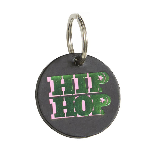 DANDY STAR LEATHER HIP HOP KEY RING
