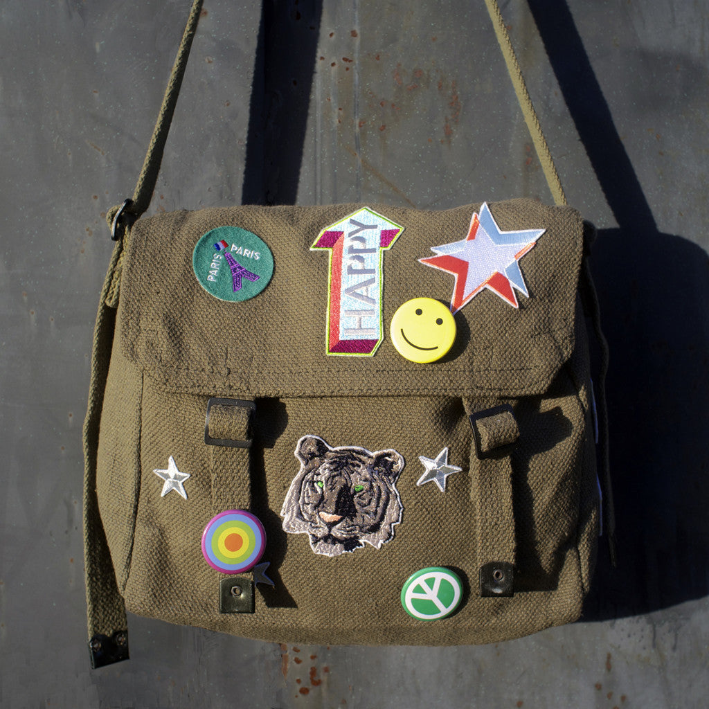 KIT BAG : GREEN + 3 x PATCHES +/OR BADGE SETS