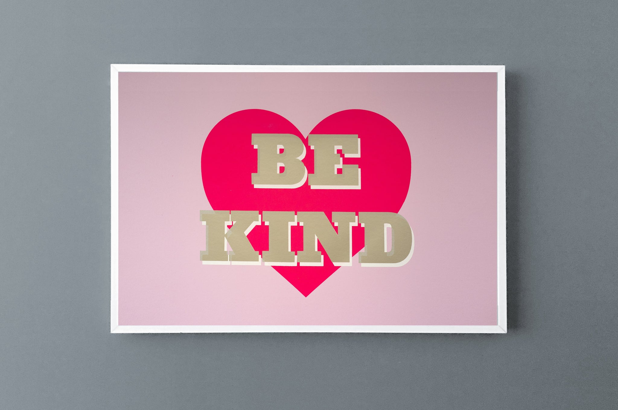 BE KIND 40 x 50