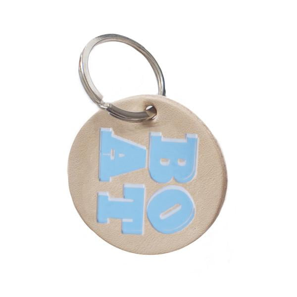 DANDY STAR LEATHER BOAT KEY RING - Dandy Star