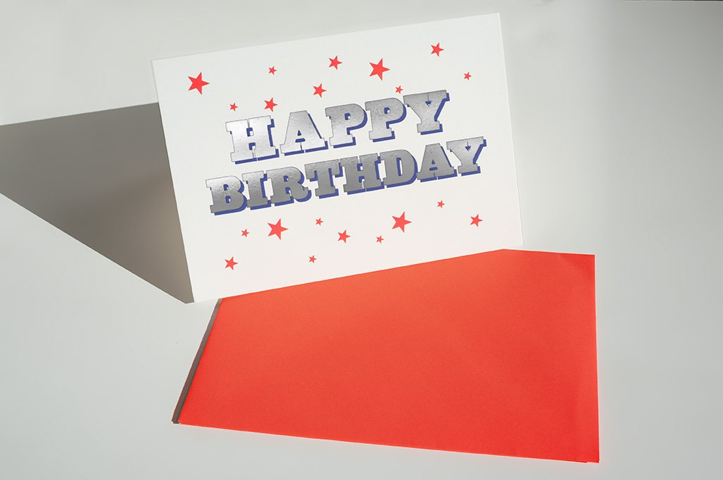 DANDY STAR HAPPY BIRTHDAY GREETING CARD - Dandy Star