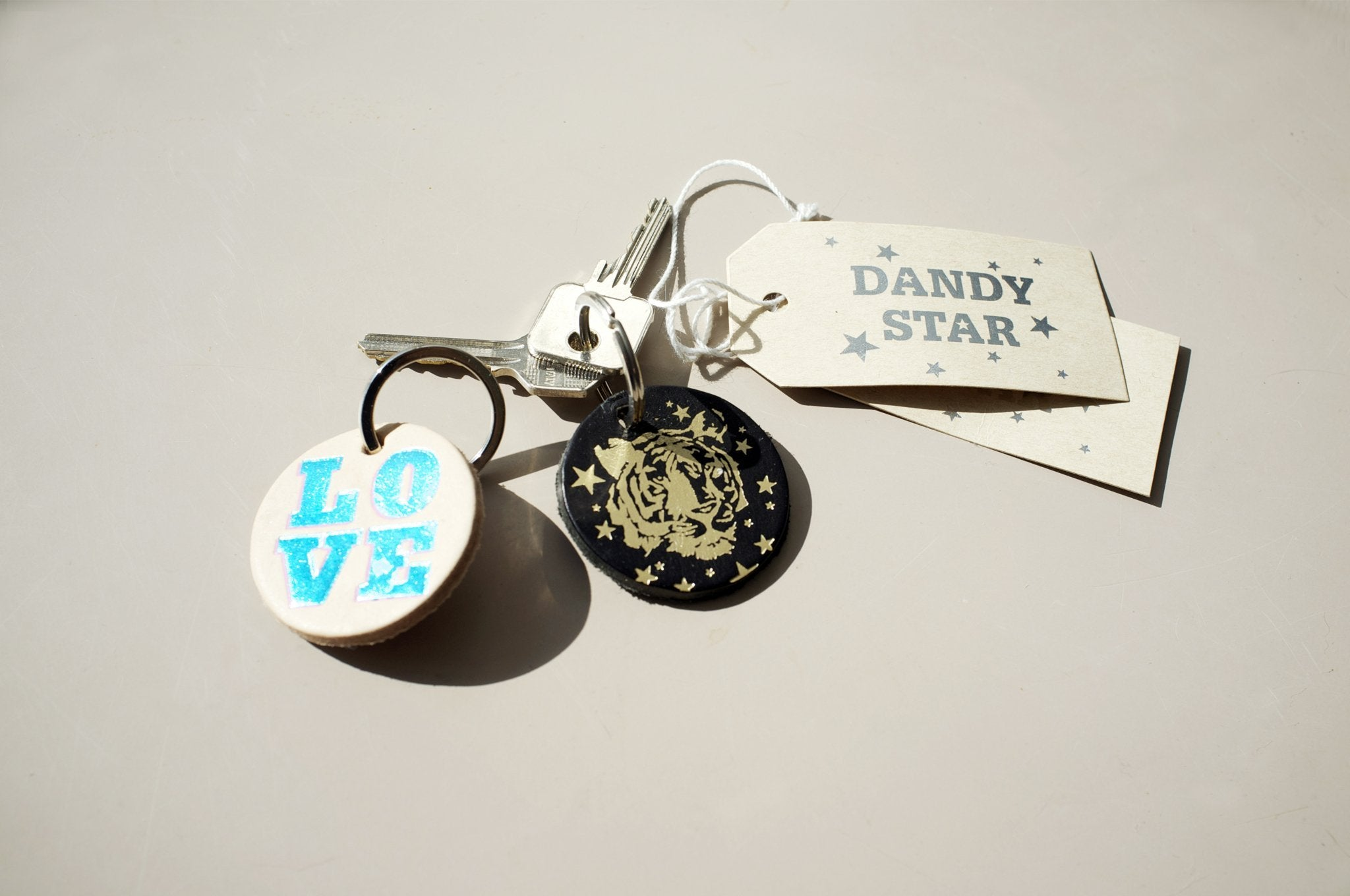DANDY STAR LOVE KEY RING