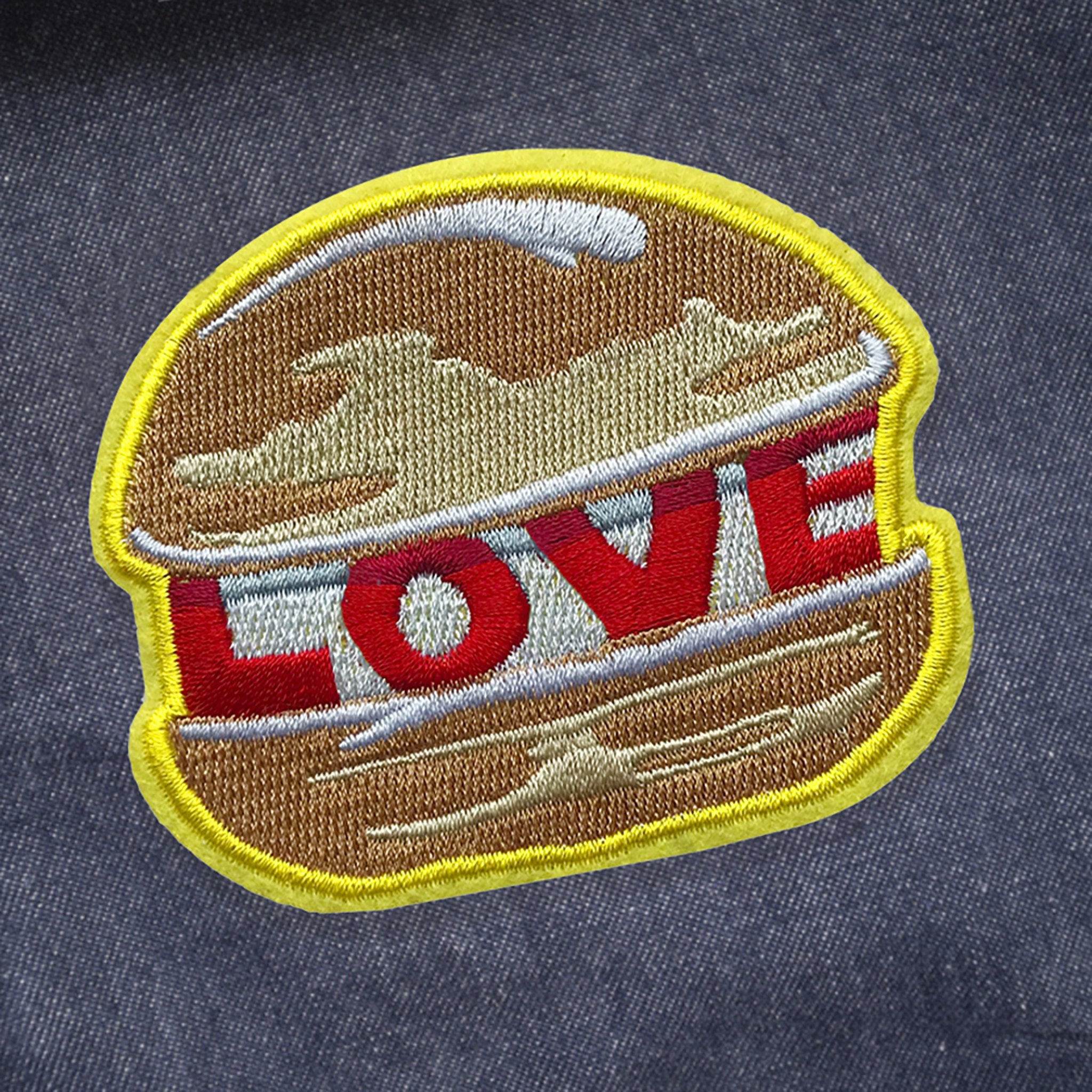 LOVE BURGER PATCH - Dandy Star