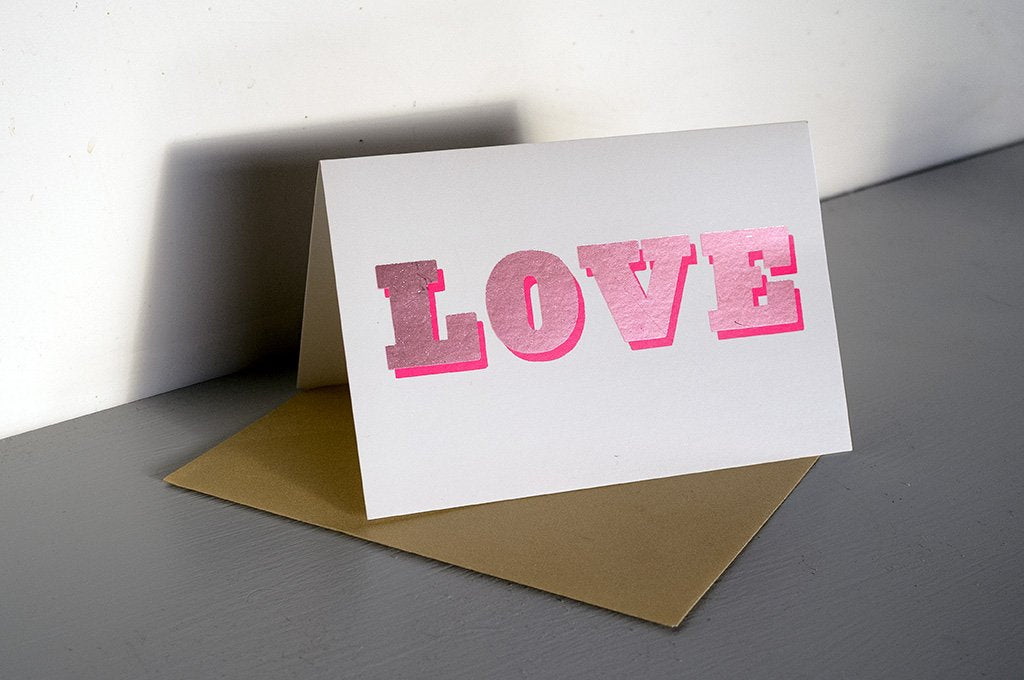 DANDY STAR LOVE SHINE GREETING CARD - Dandy Star