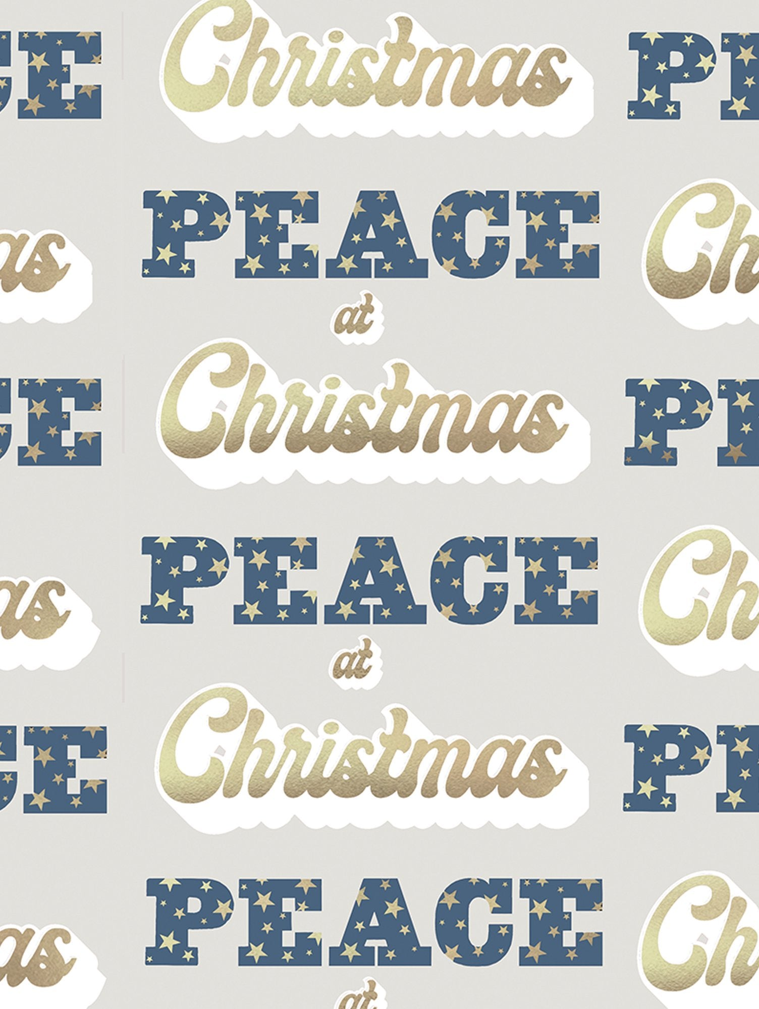 PEACE AT CHRISTMAS  WRAP