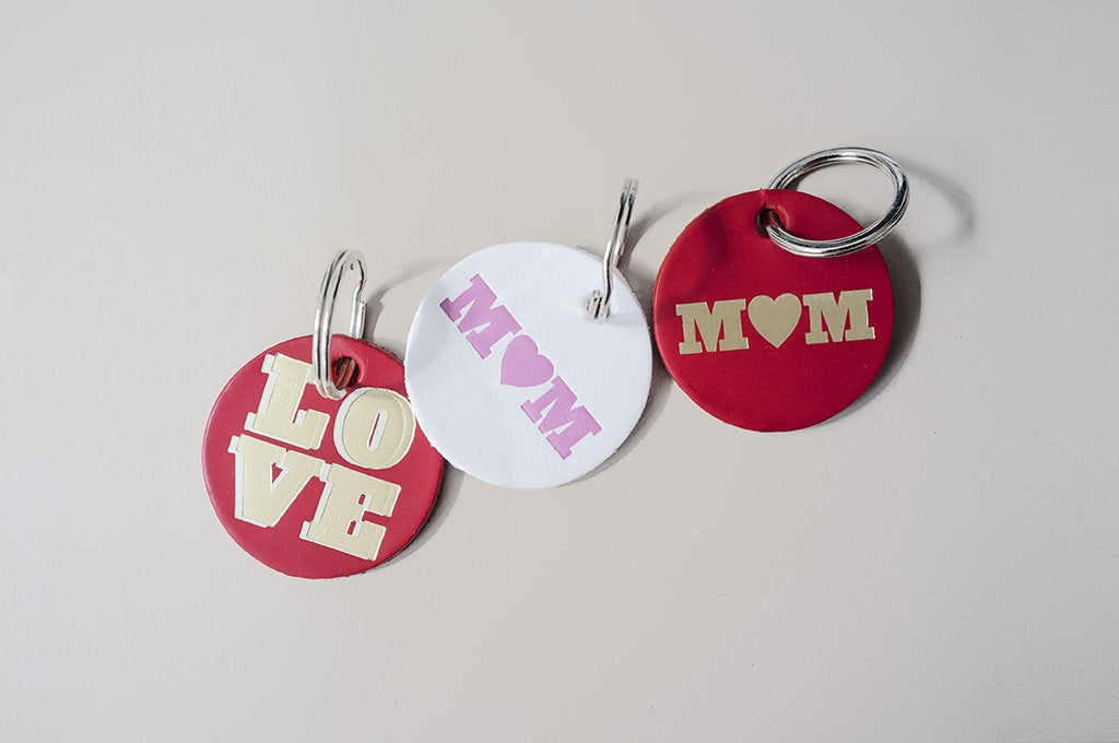 DANDY STAR RED LOVE KEY RING