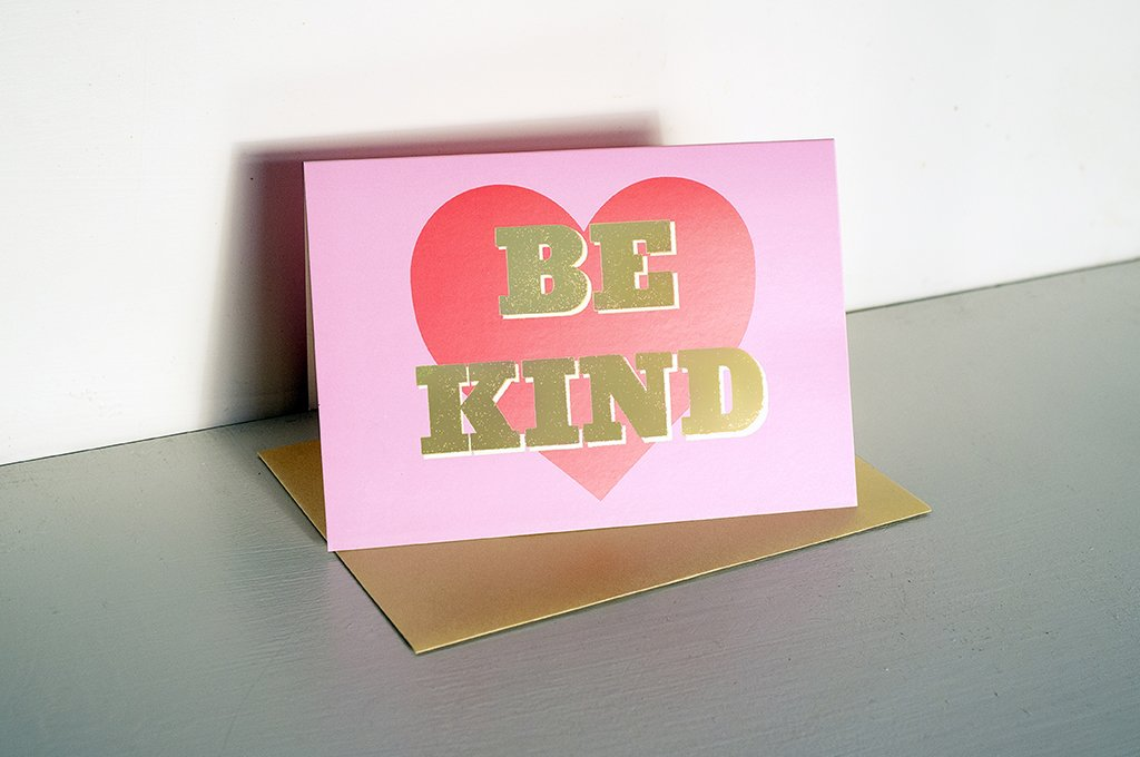 DANDY STAR BE KIND GREETING CARD