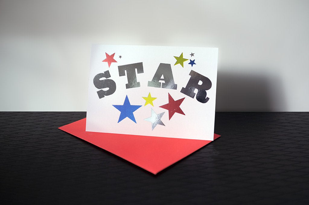 DANDY STAR GREETING CARD