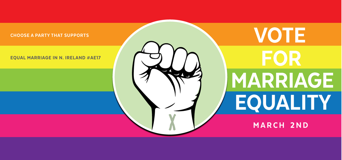 Talking Kindness, Fairness & Respect. Free Printable Posters - Marriage Equality - NI election 2017