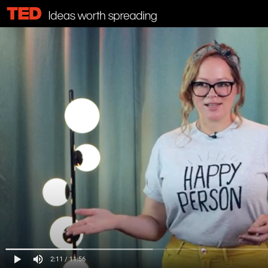 Astra McNicholl's TEDx Talk on Happiness!