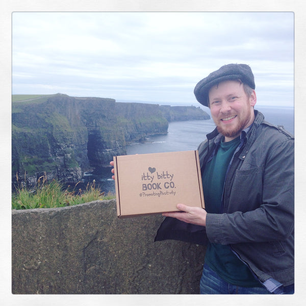 Itty Bitty Book Co. County Clare, Cliffs of Moher, Ireland, Promoting Positivity
