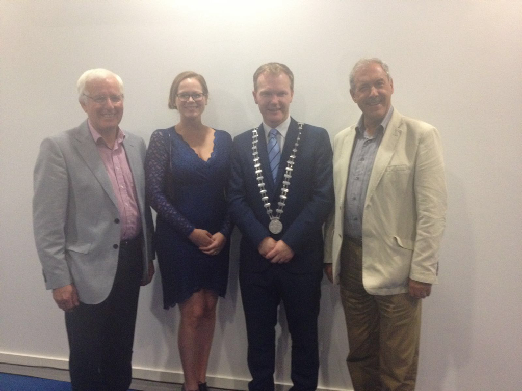 VisitCork, NorthernIrishBusiness, IttyBittyBookCo, CountyCorkMayor, IrishBusiness, BusinessTrip, GoingSouthInitiative