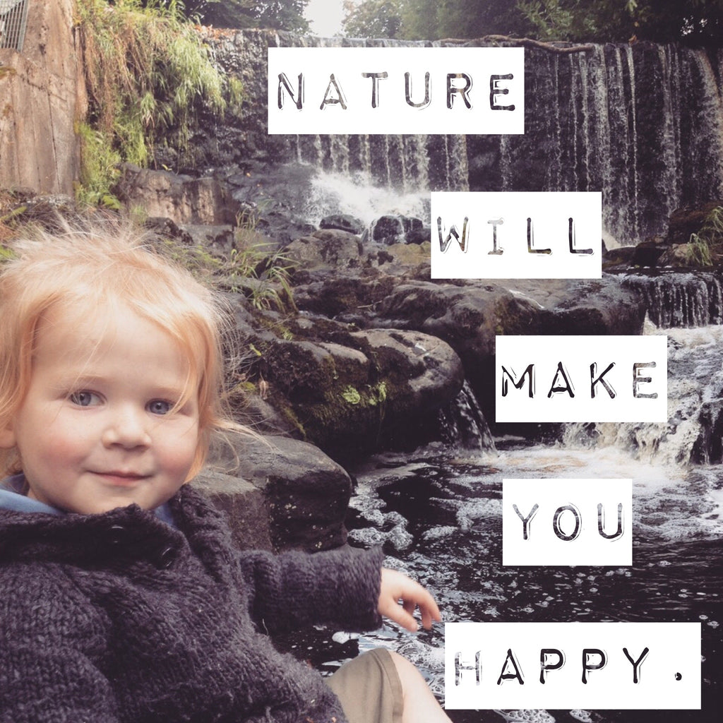 Benefits of play in nature for kids, outdoor play, freeplay, Itty Bitty Book Co, Positivity and children