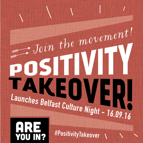 Positivity Takeover, Pay it forward, Random acts of kindness, Itty Bitty Book Co, Culture night