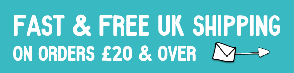 Free UK Shipping over £20