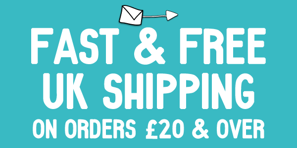Fast & Free UK Shipping on orders £20 and over