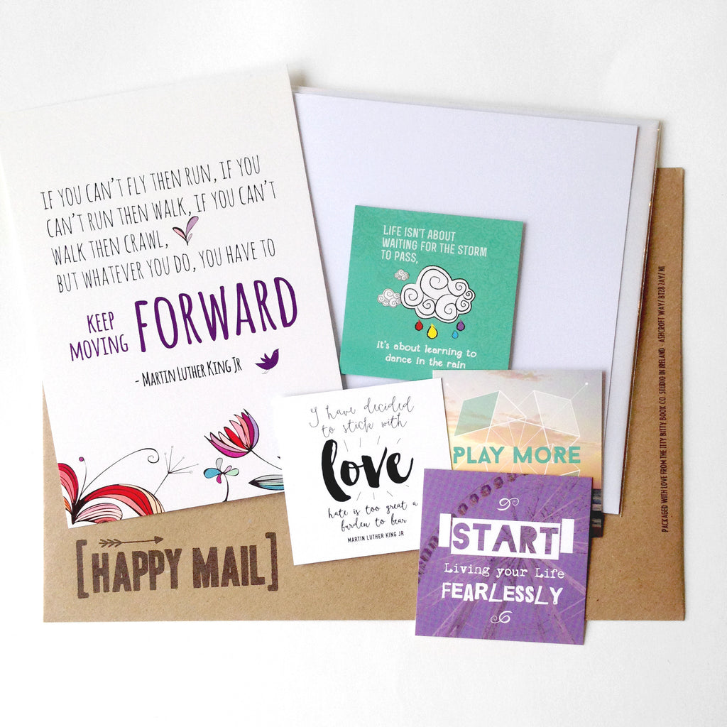 Happy Mail, Quotes, Self Care, Happy Cards, Itty Bitty Book Co, Snail Mail, Subscription
