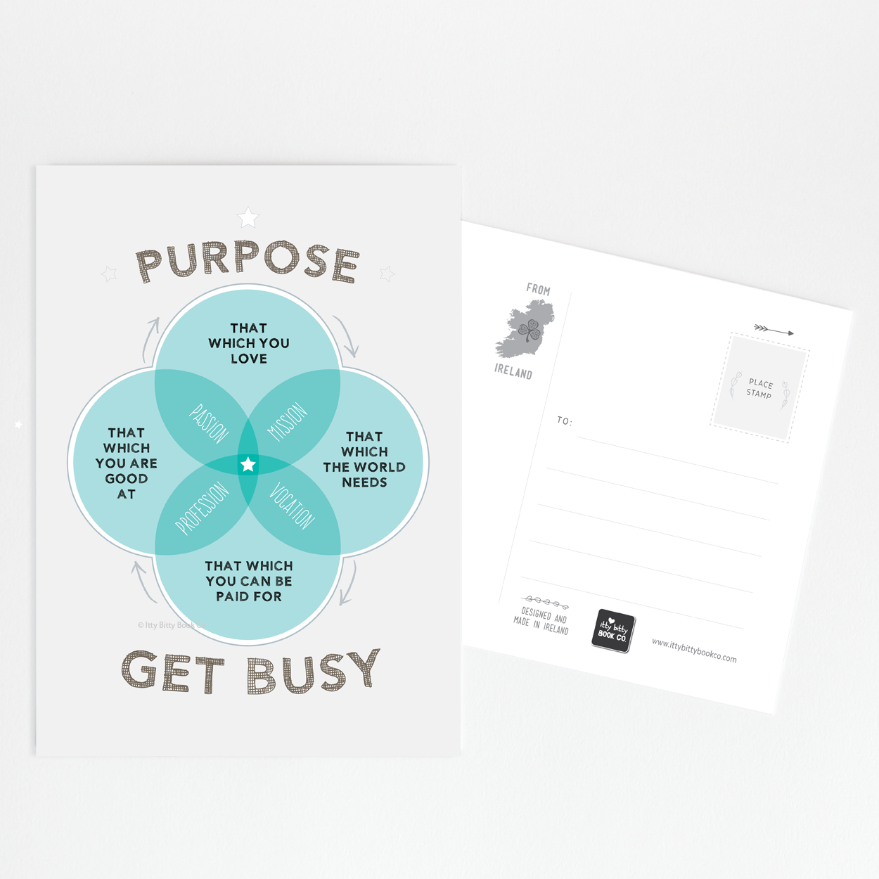 Inspirational Postcards and Postcard Sets | Itty Bitty Book Co