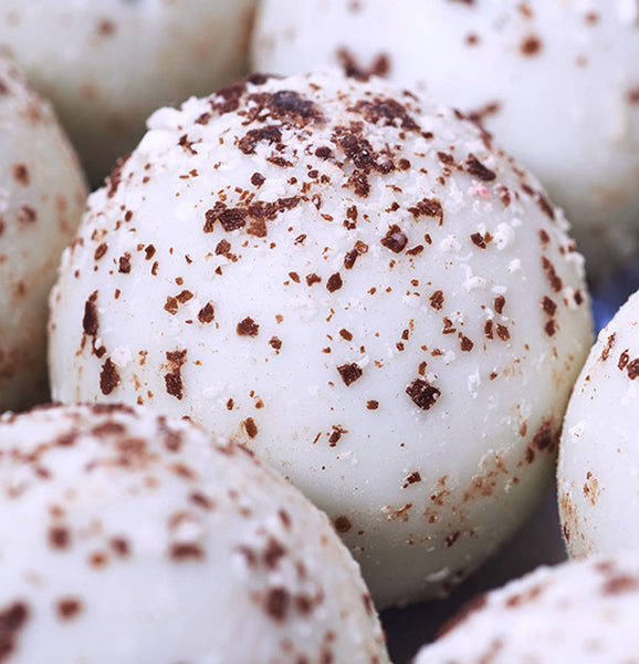 White Chocolate Cappuccino Truffles at Kayden's Candy Factory