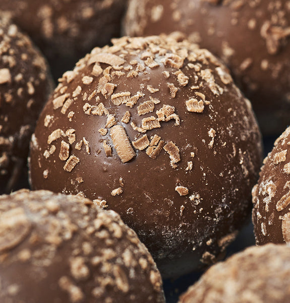 Milk Chocolate Truffles at Kayden's Candy Factory