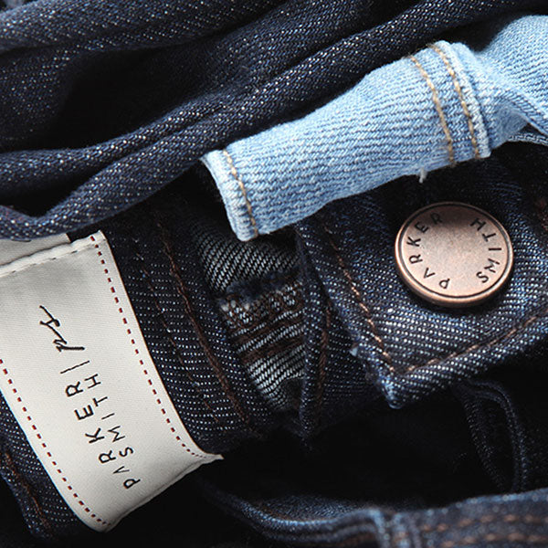 Parker Smith denim detail