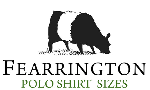 Beltie Polo Sizes