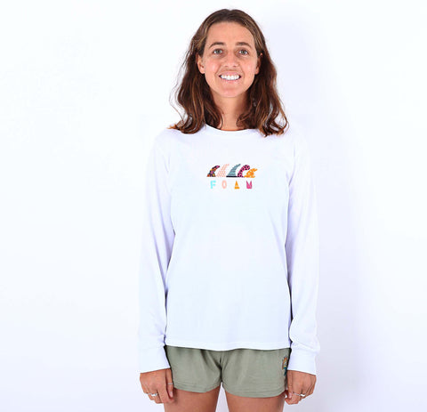 Philippa Anderson Fins Long Sleeve Tee