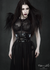 Human fur shoulder pads / Black human hair shoulder harness / Wasteland epaulets / Burning man fringe shrug