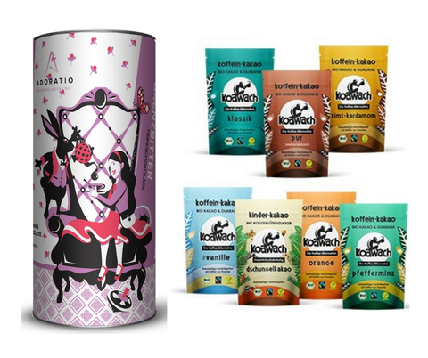 Hot Chocolate & Caffeine Cocoa Collection - Chocolate & More Delights