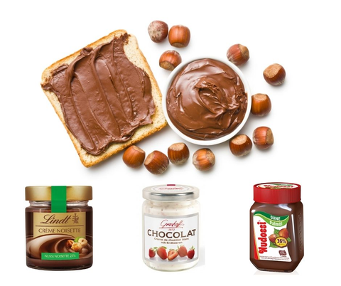 Chocolate Spread Collection - Chocolate & More Delights