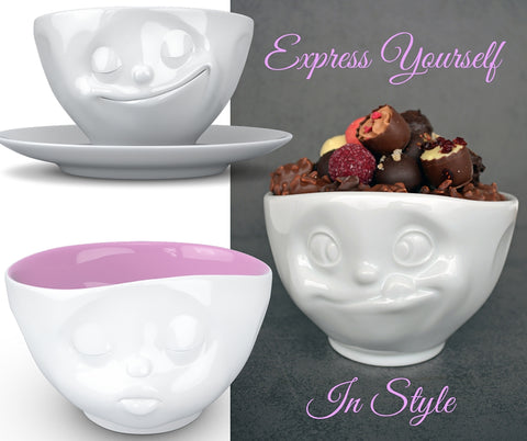 Emoji Bowl & Cup Collection - Chocolate & More Delights