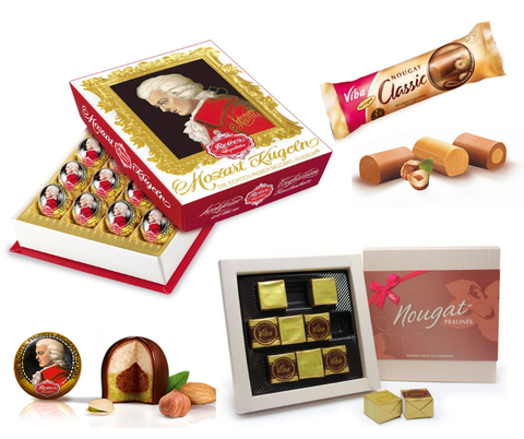 Nougat, Marzipan, Nuts - Chocolate & More Delights