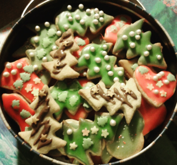 Christmas Cookies by Chocolate & More Delights