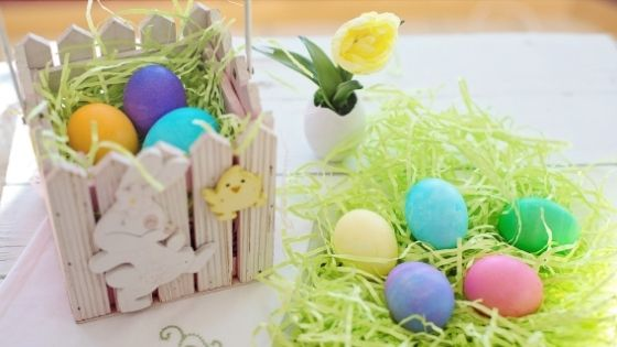 Colorful Easter Eggs - Chocolate & More Delights