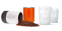 Emoji Mug & Adoratio Organic Drinking Chocolate
