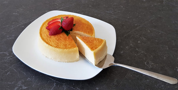 Japanese Cotton Cheesecake - Chocolate & More Delights