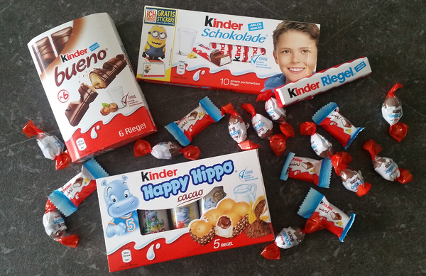 Kinder Chocolate Mix - Chocolate & More Delights