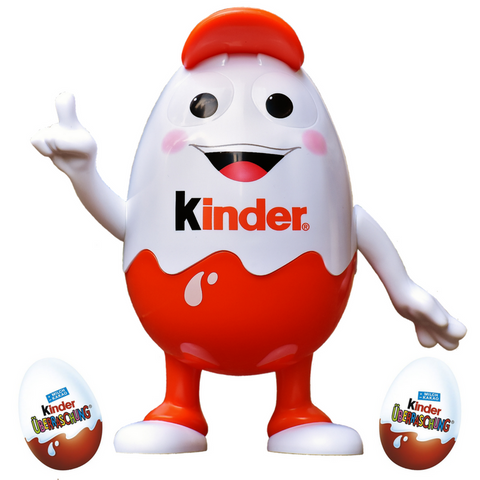 Kinderino with Kinder Surprise Eggs - Chocolate & More Delights