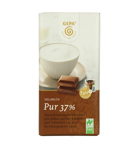 GEPA Organic Milk Chocolate