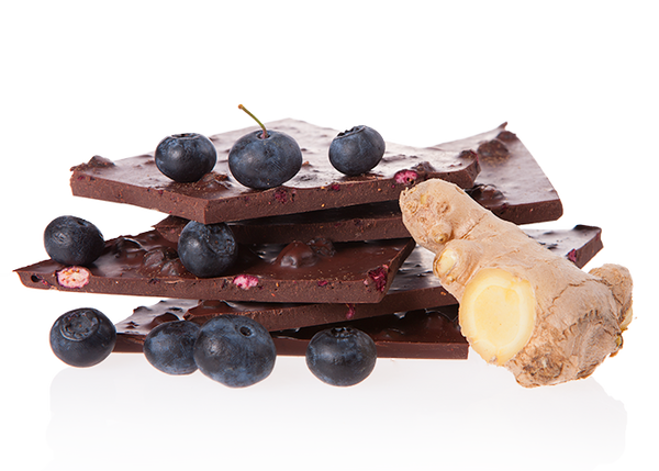Organic Blueberry & Ginger-Chocolate & More Delights
