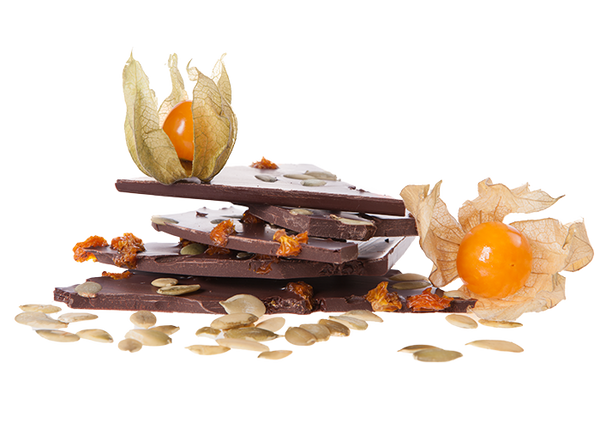 Artisan Physalis & Pumpkinseeds-Chocolate & More Delights