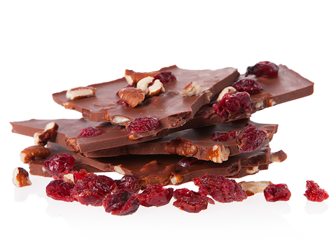 Organic Cranberry & Pecan Nuts Milk Chocolate-Chocolate & More Delights