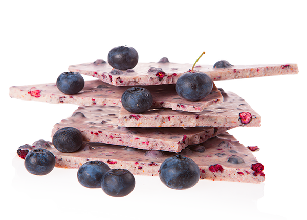 Organic Blueberry White Chocolate-Chocolate & More Delights