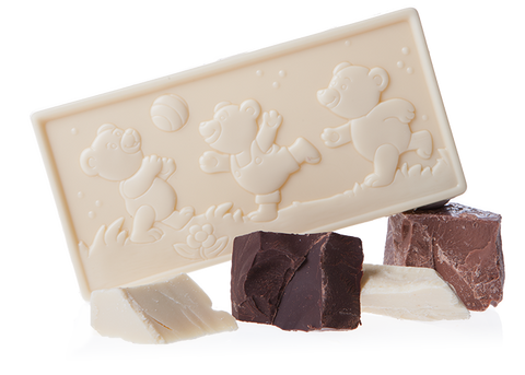 Little Bears - Organic White Chocolate Bar