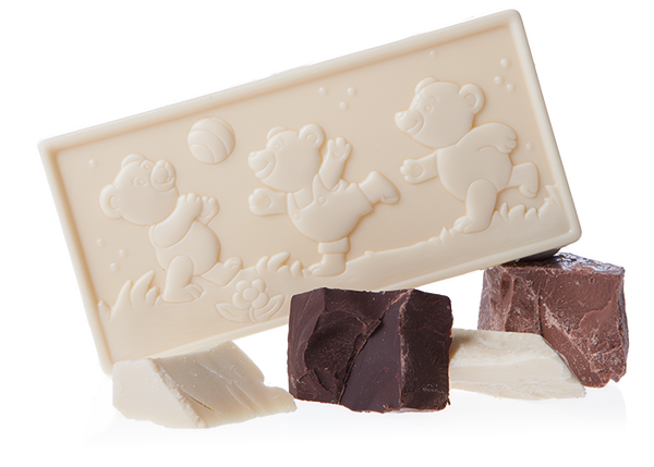 Artisan Little Bears Milk Chocolate-Chocolate & More Delights