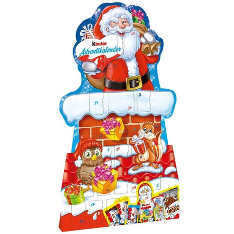 Advent Calendar Kinder Mix Santa Claus - Chocolate & More Delights