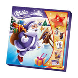Advent Calendar - Milka Christmas Friends Santa - Chocolate & More Delights