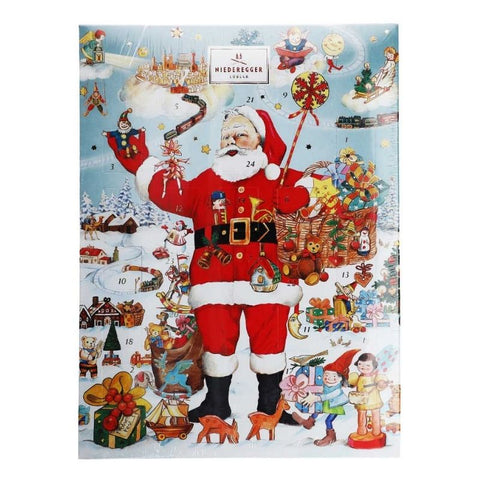 Advent Calendar Niederegger Marzipan Santa Claus - Chocolate & More Delights