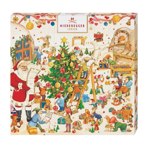 Advent Calendar Niederegger Marzipan - Chocolate & More Delights