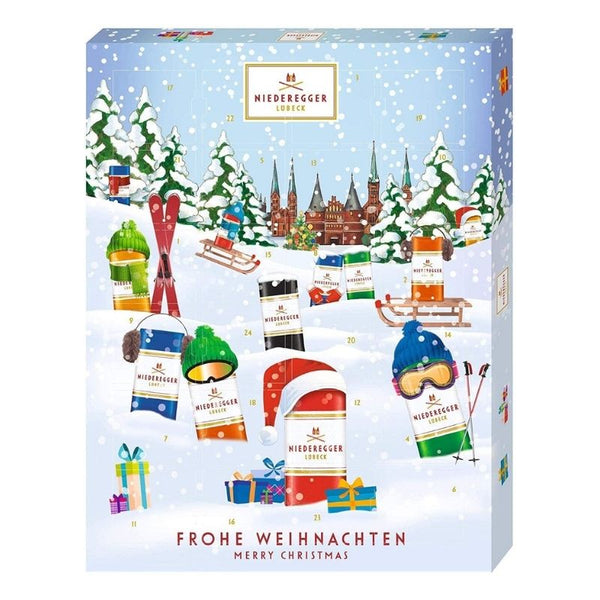Advent Calendar Niederegger Marzipan Variety - Chocolate & More Delights